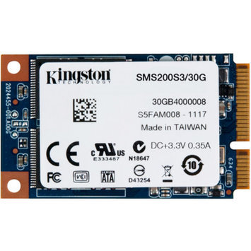 KINGSTON SSD SMS200S3/30G 30GB SSDNOW MSATA 6GBPS