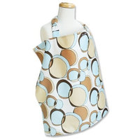 Trend Lab Bubbles Teal Nursing Cover, Blue (Discontinued by Manufacturer)