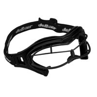 J. Debeer & Son Inc. DeBeer Lacrosse Lucent SI Goggle Black Frame and Wire