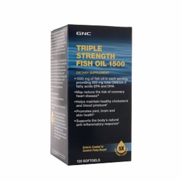 GNC Triple Strength Fish Oil 1500