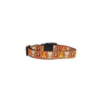 Ahi Circus Smirkus Nylon Ribbon Collars Medium