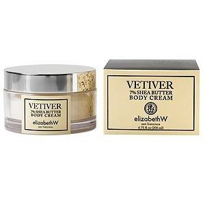 elizabeth W Body Cream, Vetiver, 6.75 fl oz