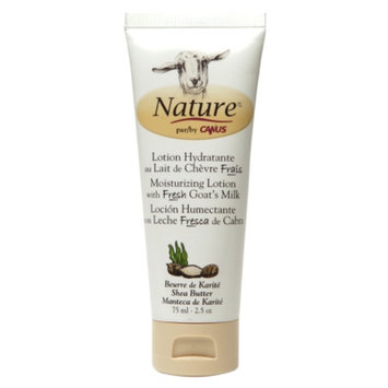 Nature by Canus Moisturizing Lotion with Fresh Goat's Milk, Shea Butter, 2.5 oz