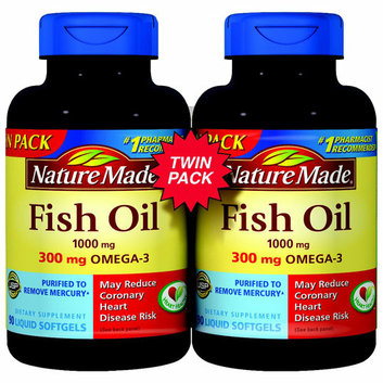 Nature Made Fish Oil Softgels
