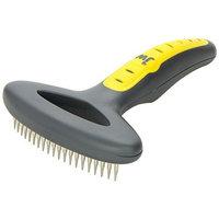 JW Pet Company GripSoft Undercoat Rake Short Teeth Dog Brush