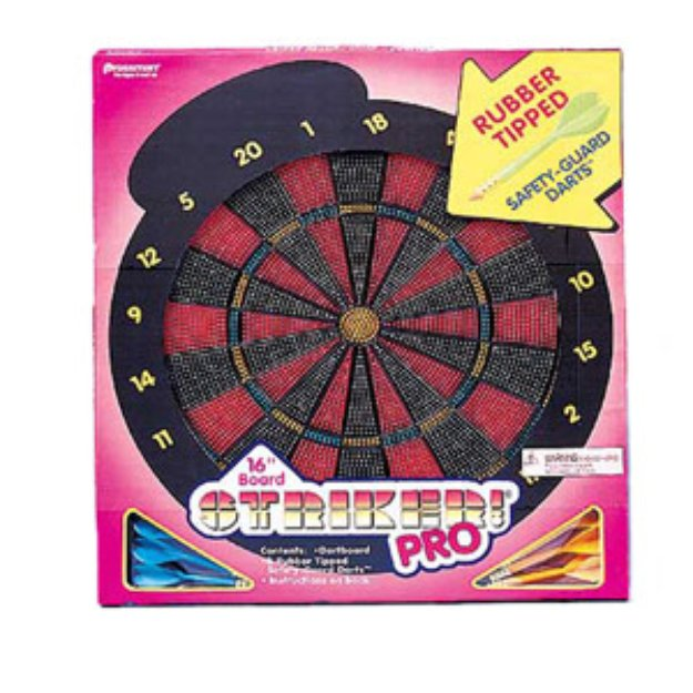 Pressman Toy Striker Pro Dart Board Game Ages 6+