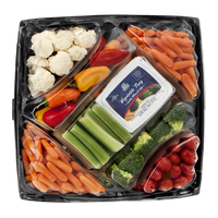 Litehouse Vegetable Tray with Ranch Dip