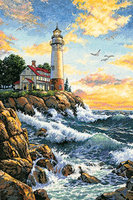 Dimensions Counted Cross Stitch Kit - Rocky Point