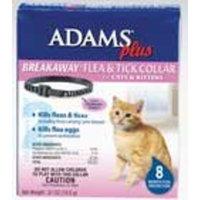 Adams Plus Breakaway Flea & Tick Collar for Cats