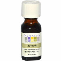 Aura Cacia Pure Essential Oil Myrrh 0.5 fl oz