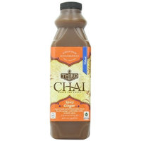 Third Street Chai, Spicy Ginger Chai, 32-Ounce Plastic Bottles (Pack of 6)