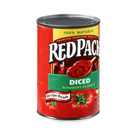 Redpack 100% Natural Diced Tomatoes in Juice