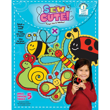 Colorbok NOTM413208 - Sew Cute Lacing Cards