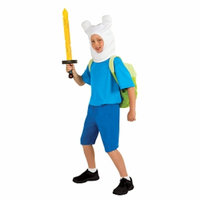 Rubies Costume Co Child Deluxe Adventure Time Finn Costume