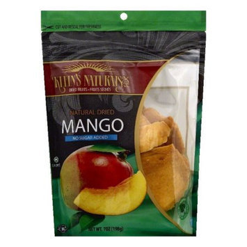 Kleins Naturals Natural Dried Mango, 7 OZ (Pack of 6)