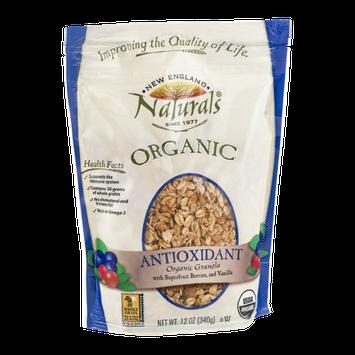 New England Naturals Antioxidant Organic Granola with Superfruit Berries and Vanilla