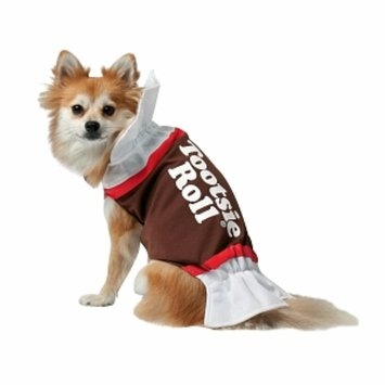 Rasta Imposta Costumes Tootsie Roll Dog Costume
