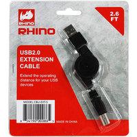 Raid Max Rhino CBU-EXT-S USB 2.0 Extension Cable Retractable Cable