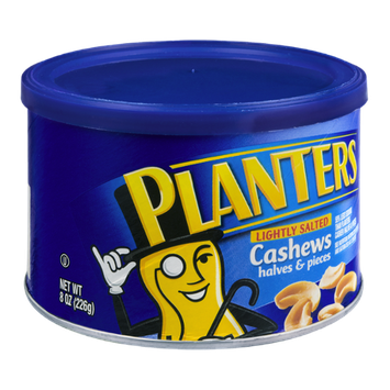 Planters Lightly Salted Halves & Pieces Cashews