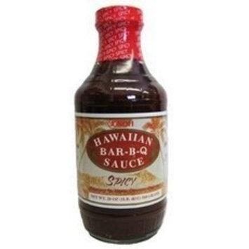 Noh Foods NOH of Hawaii Spicy Bar-B-Q Sauce, 20 Ounce