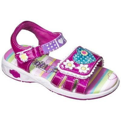 Disney Toddler Girl's Doc McStuffins Gladiator Sandals - Pink 7