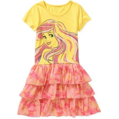 Disney Princess Disney Little Mermaid Tye Dye Tutu Dress
