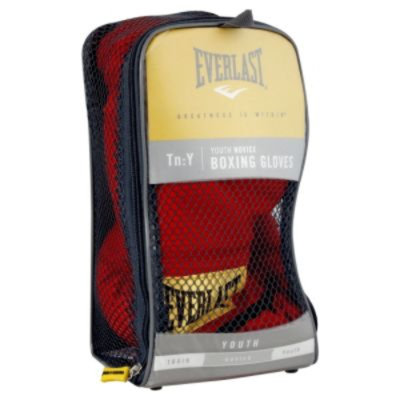 Everlast Boxing Gloves, Youth Novice, 1 pair