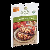 Simply Organic Southwest Taco Seasoning