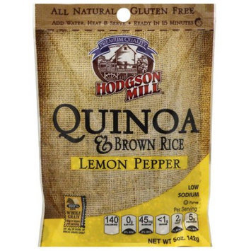 Hodgson Mill Lemon Pepper Quinoa & Brown Rice, 5 oz, (Pack of 10)