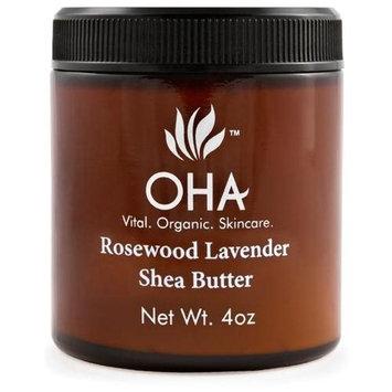 Rosewood Lavender Shea Butter OHA Vital Organic Skincare 4 oz Liquid