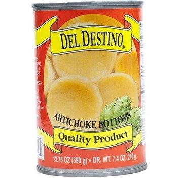 Del Destino Artichoke Bottoms - 1 can - 7-9 Count - 7.4 oz