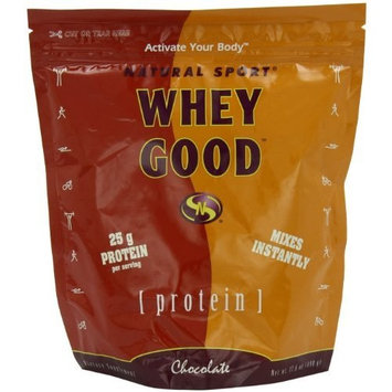 Natural Sport Whey Good Protein, Chocolate, Powder, 498 Grams