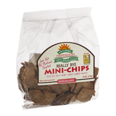 Rubschlager Natural Preferences Mini-Chips Really Rye