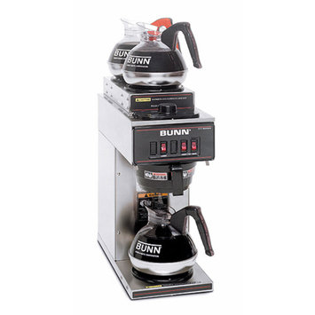 Bunn VP17-3 12-Cup Pourover Commercial Coffee Brewer w/3 Warmers