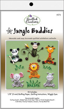 Quilled Creations Q274 Quilling KitJungle Buddies