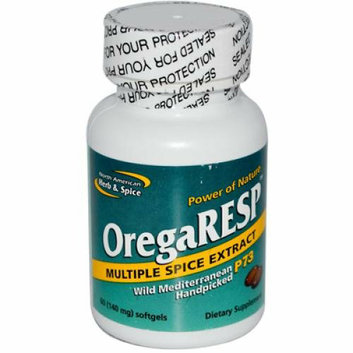 North American Hreb & Spice North American Herb and Spice OregaRESP 60 Softgels