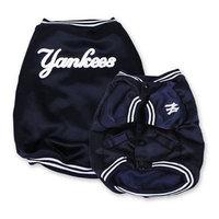 Sporty K9 New York Yankees Dugout Dog Jacket, X-Large