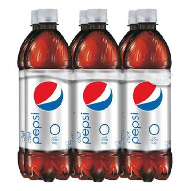 Pepsi Diet Cola Soda 12 oz, 8 pk