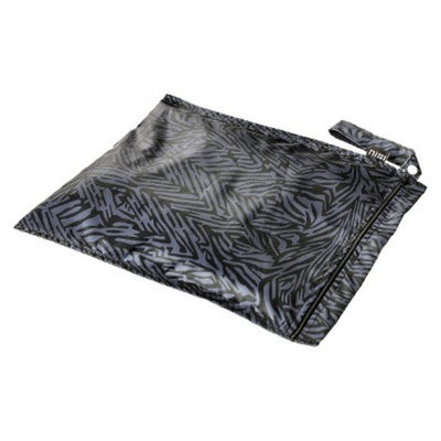 Nixi by Bumkins Recycled Fabric Wet Bag - Flint