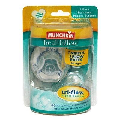 Munchkin Healthflow Standard Nipple System , 2 pack