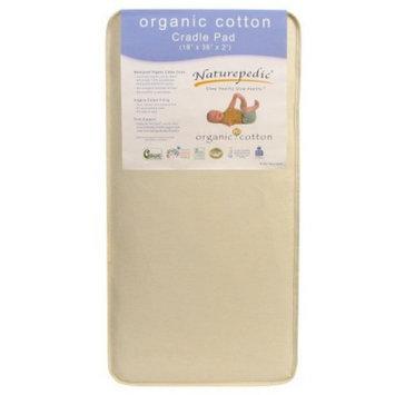Cradle Mattress: Naturepedic Organic Cotton Cradle Mattress/Pad