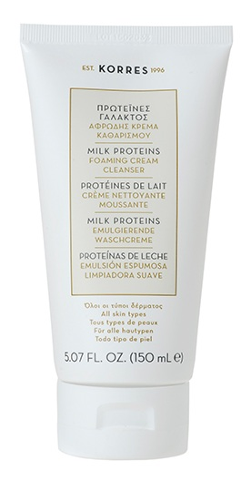 KORRES Milk Proteins Foaming Cream Cleanser