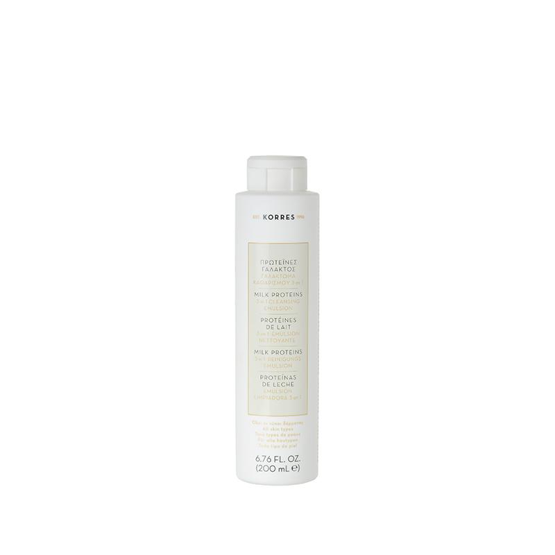 KORRES Milk Proteins 3 In 1 Cleansing Emulsion