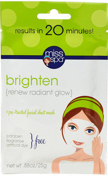 Miss Spa Brighten Face Mask-1 mask Pack