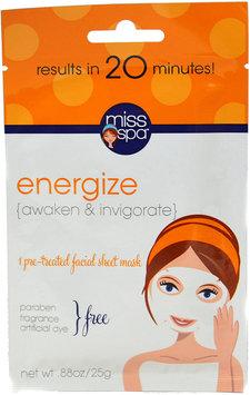 Miss Spa Energize Face Mask-1 mask Pack
