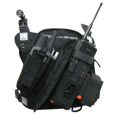 COAXSHER RP202 RCP-1,Pro Radio, Chest Harness