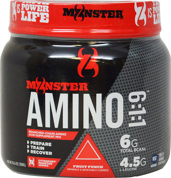 Monster Milk Cytosport Monster Amino 6:1:1 Supplement, Fruit Punch, 10.6 Ounce