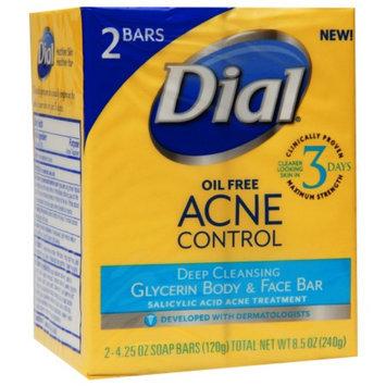 Dial Acne Control Bar Soap