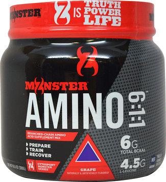 Monster Milk Cytosport Monster Amino 6:1:1 Supplement, Grape, 10.6 Ounce