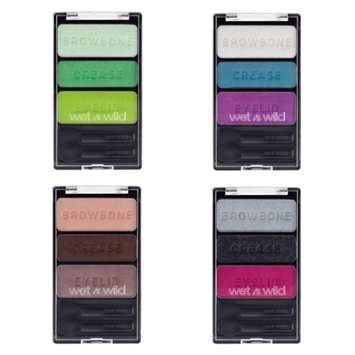 Wet n Wild Color Icon Eyeshadow Trios